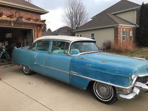 mostly original 1955 Cadillac Deville project for sale