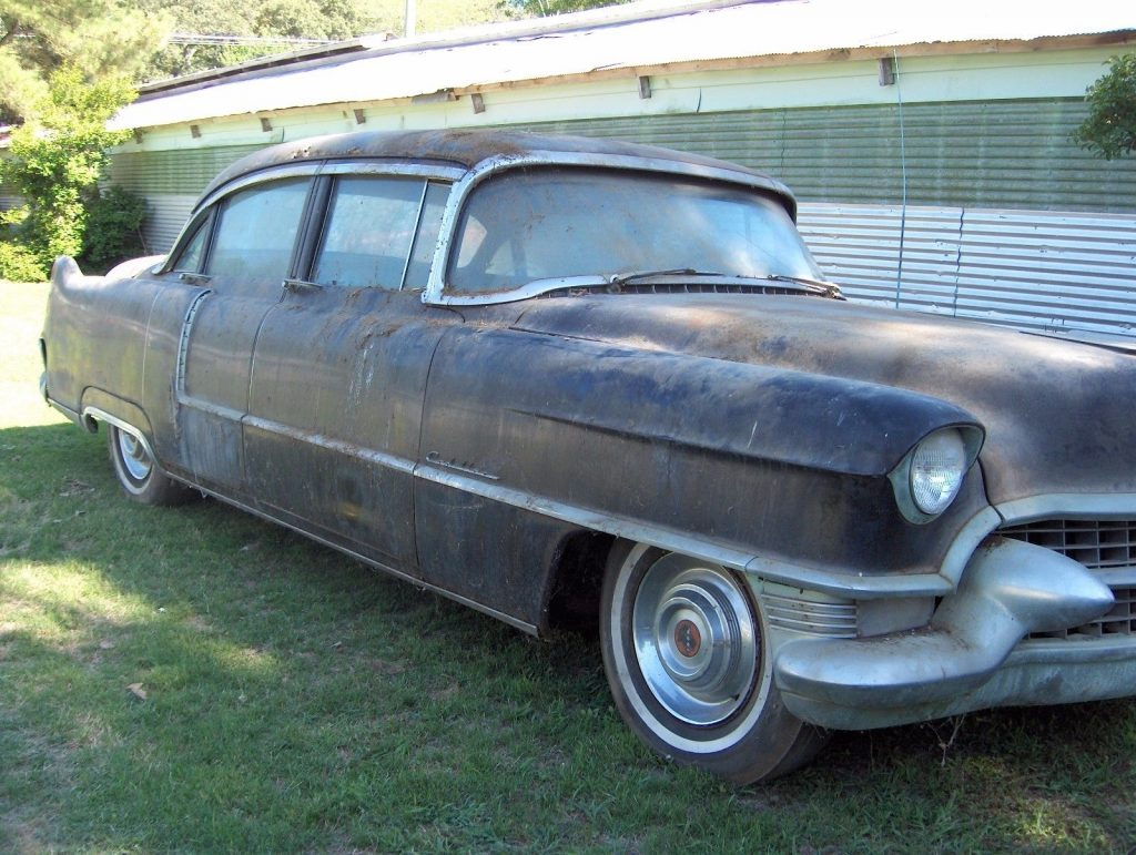 needs restoration 1955 Cadillac Sedan DeVille project