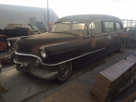 needs work 1954 Cadillac 60 Superior Hearse project for sale