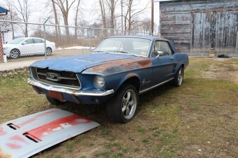 new parts 1967 Ford Mustang Coupe project for sale
