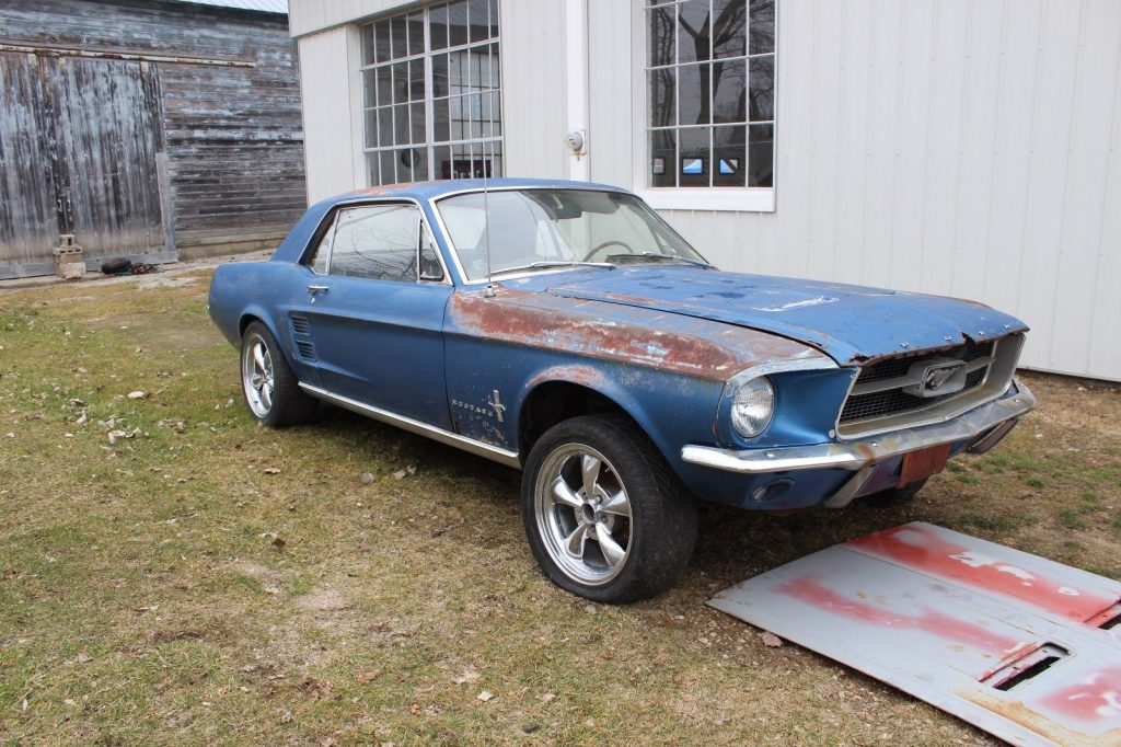 new parts 1967 Ford Mustang Coupe project