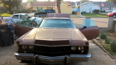 new parts 1973 Chevrolet Impala Coupe project for sale