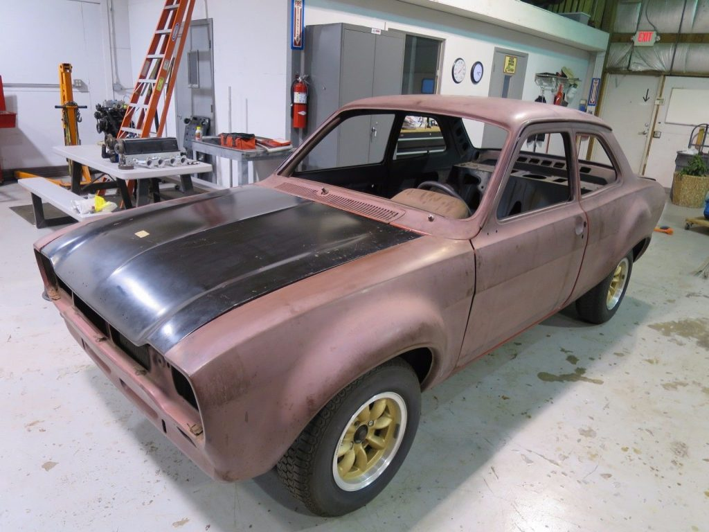 race car 1971 Ford Mk1 Escort RS2000 rare model project
