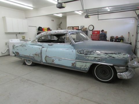 rust free 1953 Cadillac Coupe DeVille solid project for sale