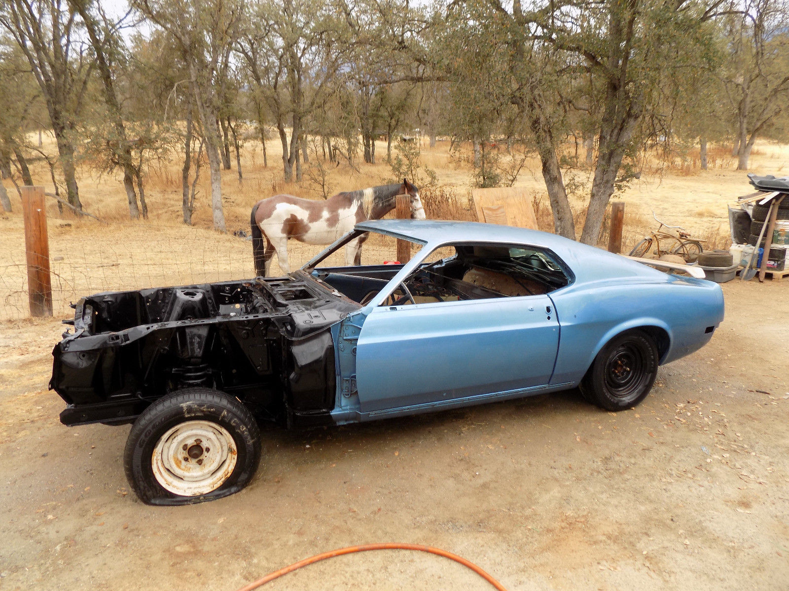 rust free 1970 ford mustang project for sale. Black Bedroom Furniture Sets. Home Design Ideas
