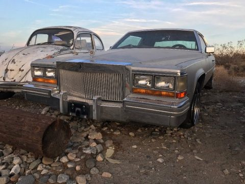 solid 1981 Cadillac DeVille project for sale