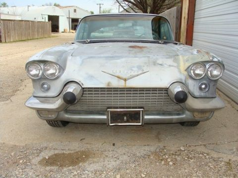very solid 1958 Cadillac Eldorado BROUGHAM project for sale