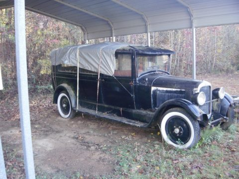 1 of 3 left 1927 Studebaker hearse rare project for sale
