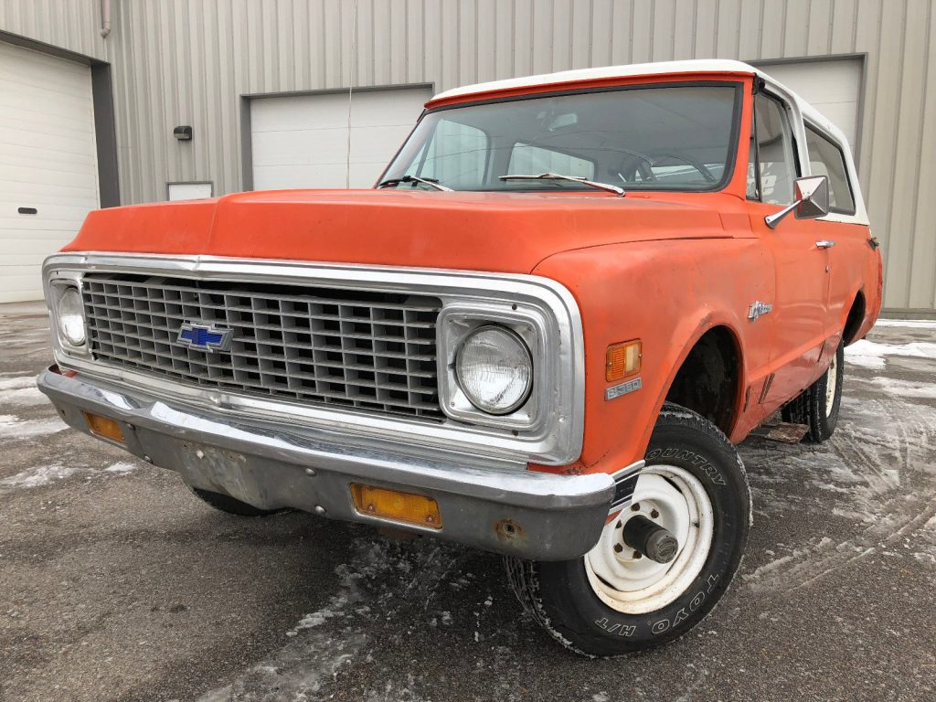 almost complete 1972 Chevrolet Blazer project