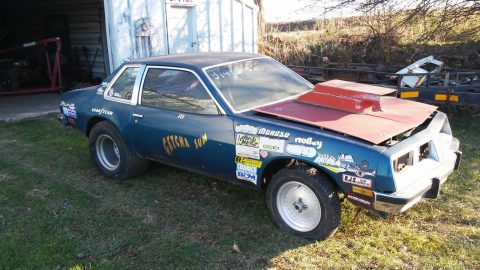 drag gasser 1980 Pontiac Sunbird project for sale