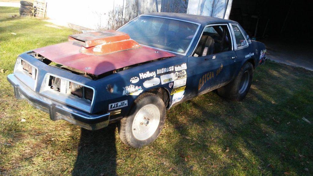 drag gasser 1980 Pontiac Sunbird project