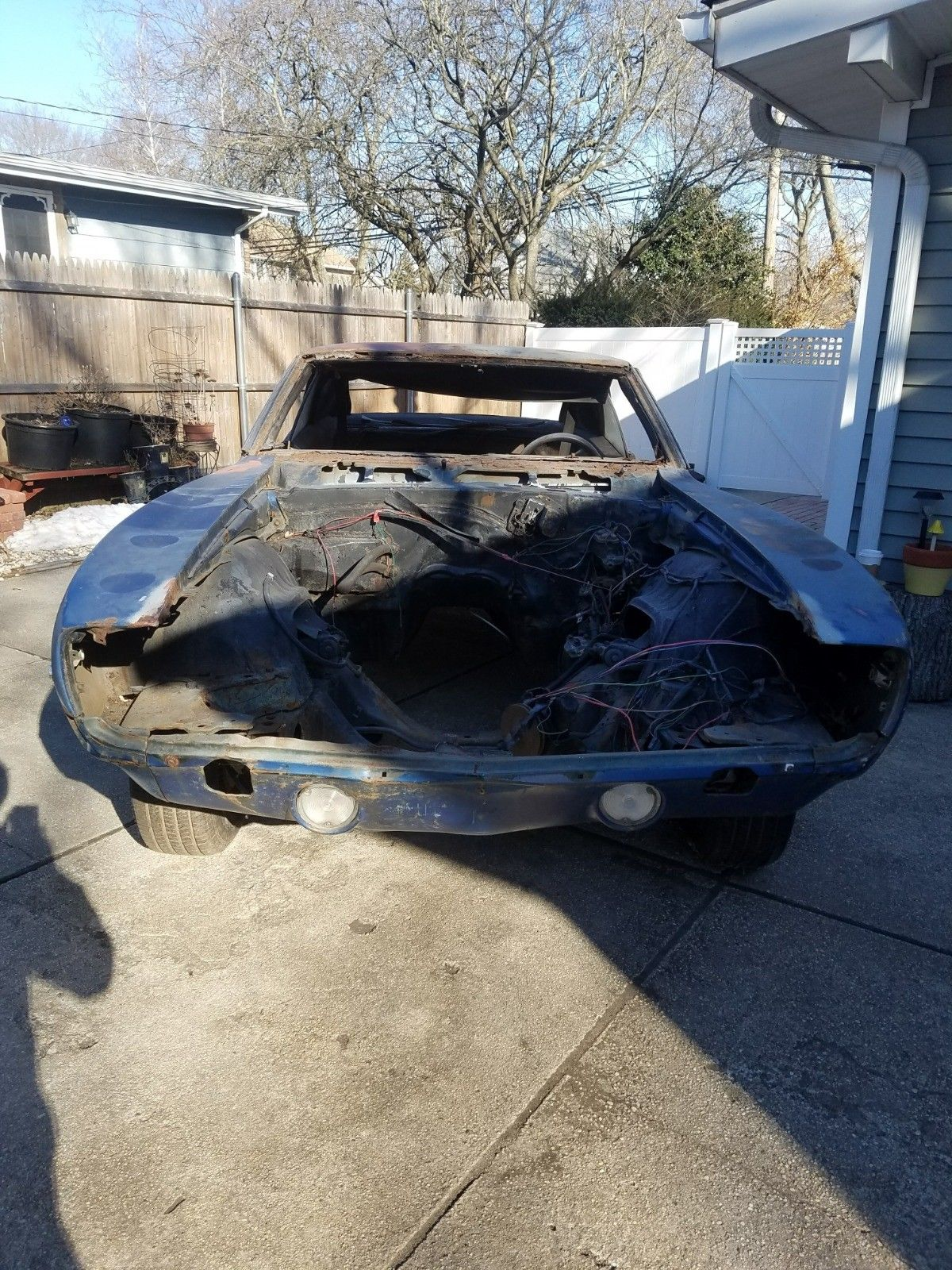 Extra Parts 1969 Chevrolet Camaro Project For Sale