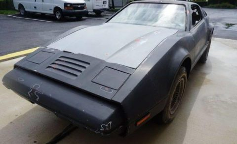 finished in primer 1974 Bricklin SV 1 project for sale