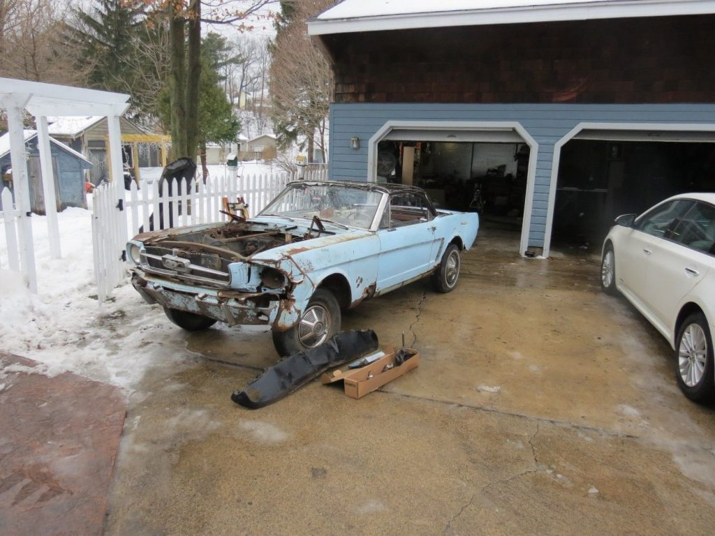 missing parts 1965 Ford Mustang Convertible project