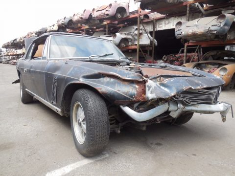 missing seats 1974 Jensen G80 Interceptor Convertible Project for sale