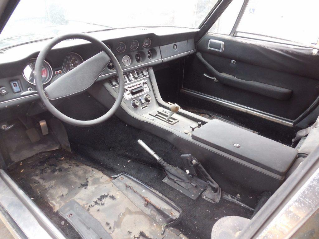 Missing Seats 1974 Jensen G80 Interceptor Convertible