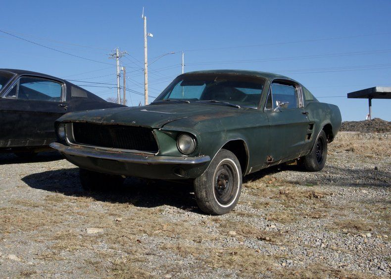 missing transmission 1967 Ford Mustang GT project