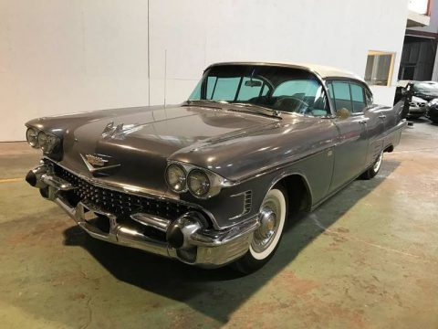 needs work 1958 Cadillac Series 62 Sedan project for sale