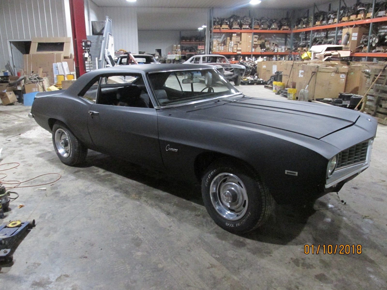 quite solid 1969 chevrolet camaro z28 project for sale. Black Bedroom Furniture Sets. Home Design Ideas