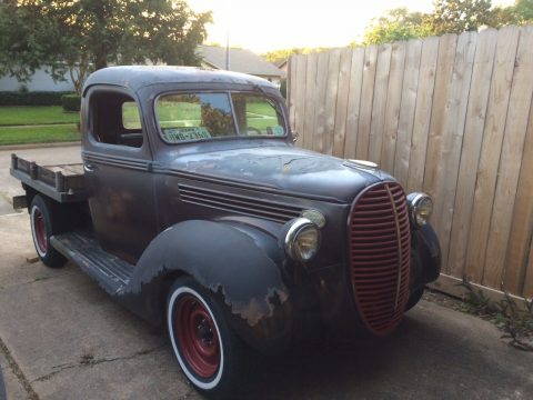 solid 1939 Ford Pickups hot rod project for sale