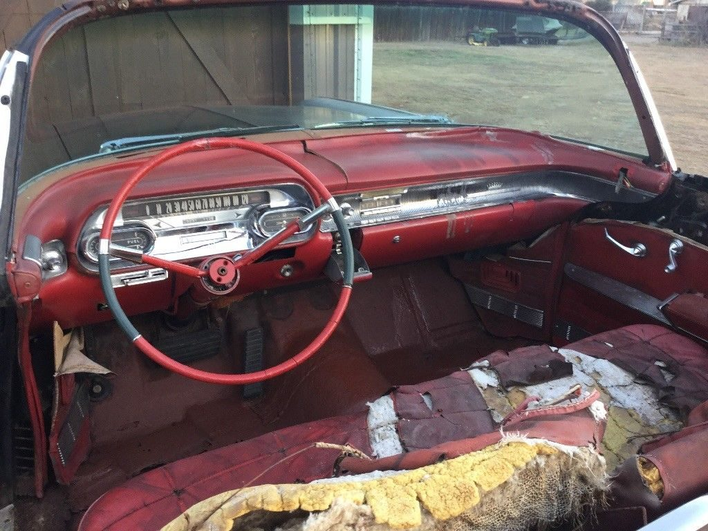 solid 1958 Cadillac Series 62 Convertible project