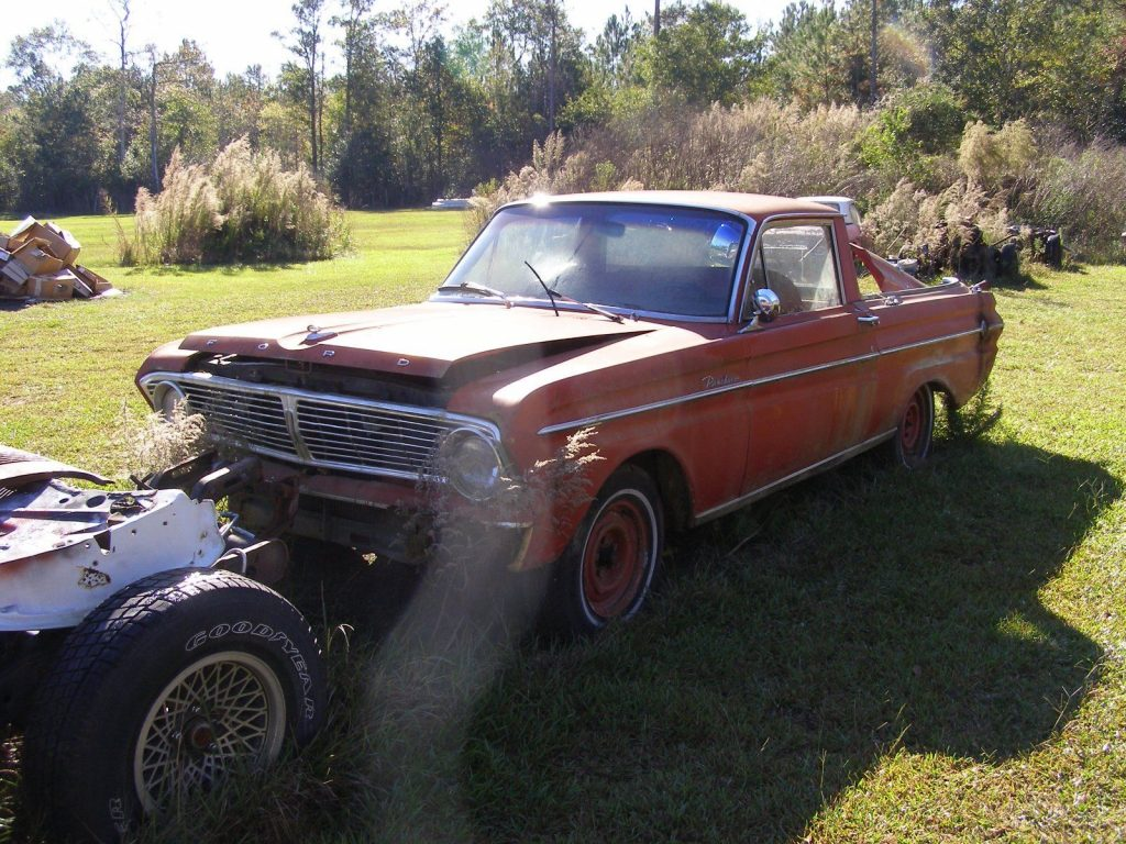 solid 1965 Ford Ranchero project