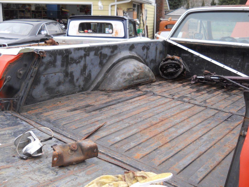 solid 1969 Ford Ranchero GT 500 Rio Grande project