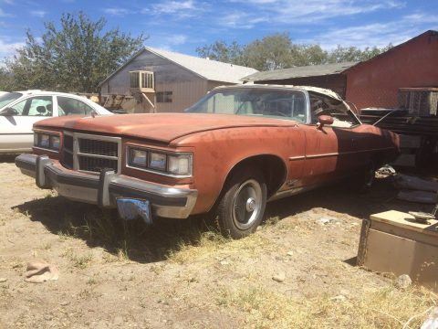 solid 1975 Pontiac Grandville Convertible project for sale
