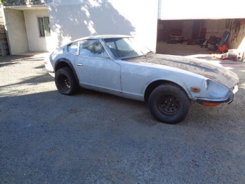 solid body 1972 Datsun Z Series 240z project for sale