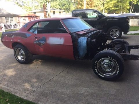 some parts extra 1969 Chevrolet Camaro project for sale