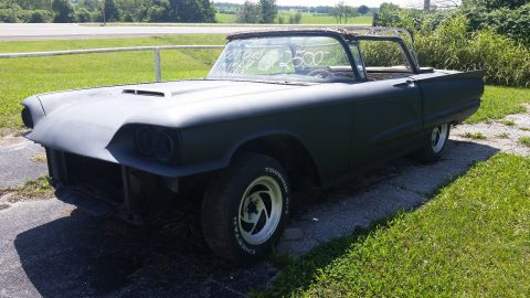 work in progress 1958 Ford Thunderbird project for sale