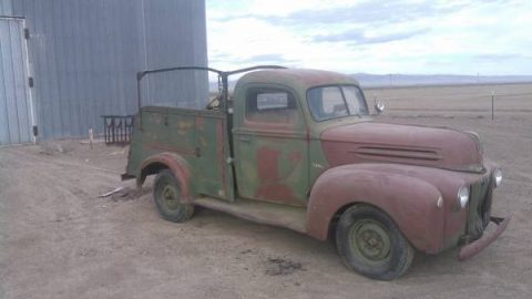 complete 1947 Ford Pickups project for sale