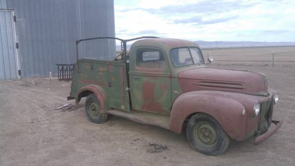 complete 1947 Ford Pickups project