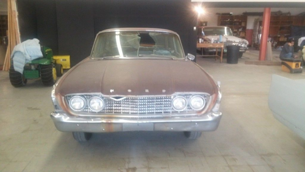extremely rare 1960 Ford Ranch Wagon project