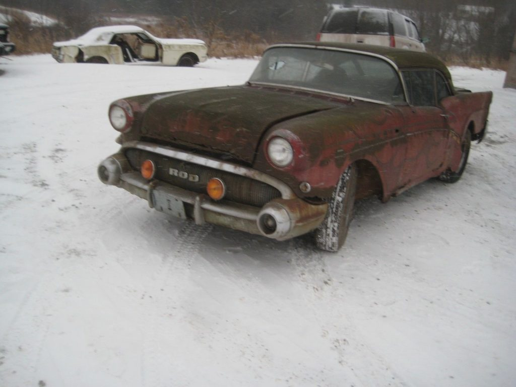 hot rod 1957 Buick Century KING ROD PROJECT