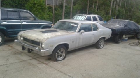 minimal rust 1974 Chevrolet Nova project for sale