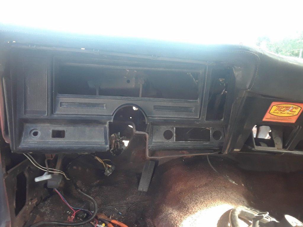 minimal rust 1974 Chevrolet Nova project