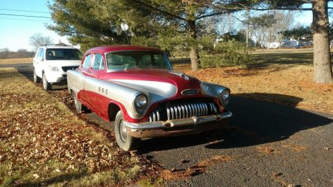 missing interior 1953 Buick Special project for sale