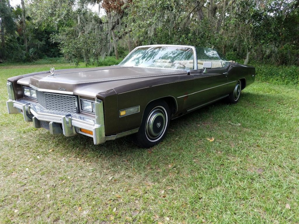 needs some work 1976 Cadillac Eldorado project