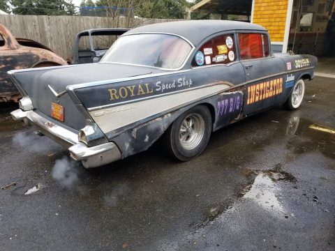 needs TLC 1957 Chevrolet Bel Air/150/210 hot rod project for sale