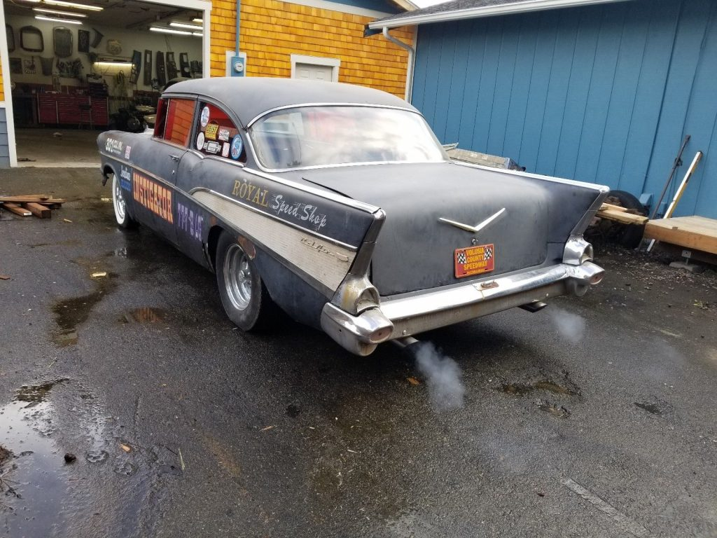 needs TLC 1957 Chevrolet Bel Air/150/210 hot rod project