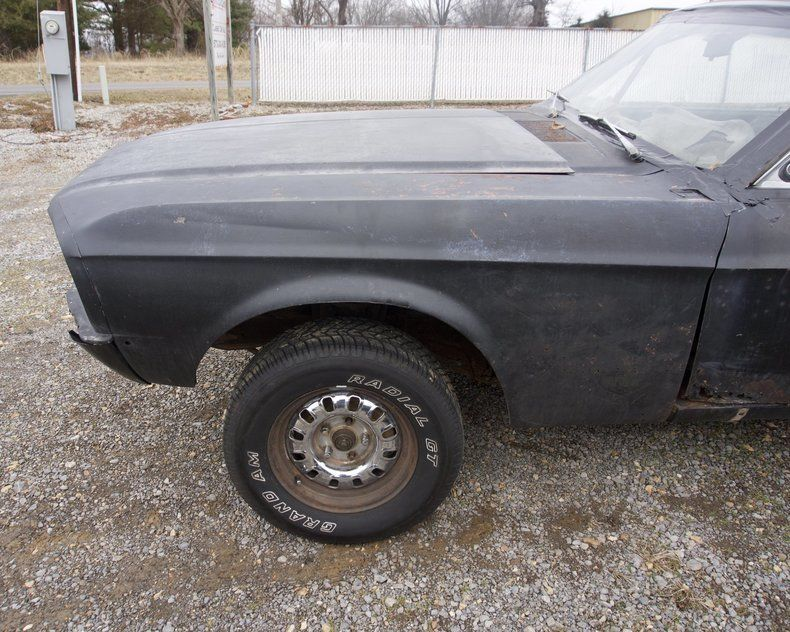 needs total resto 1967 Ford Mustang Fastback project