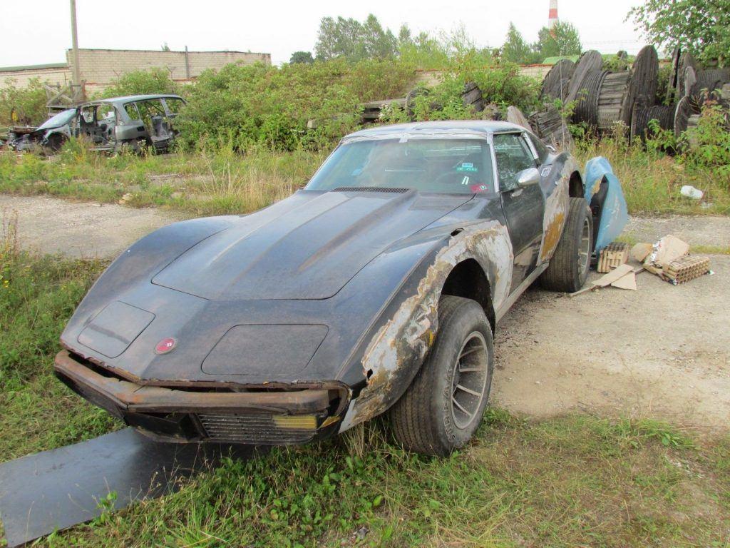 new parts 1970 Chevrolet Corvette project