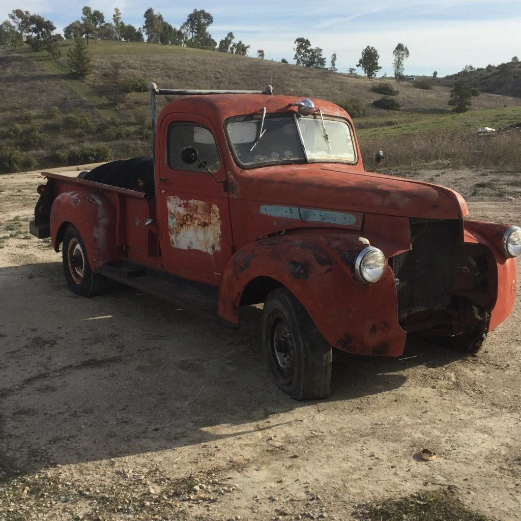 non running 1946 GMC Pick up project