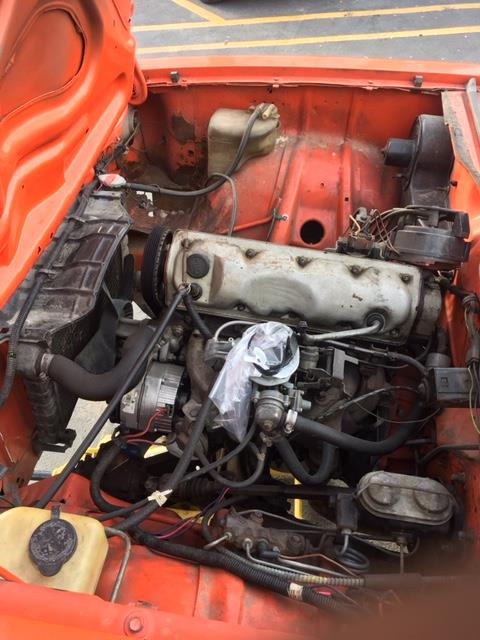 original, no rust 1976 Chevrolet Vega project