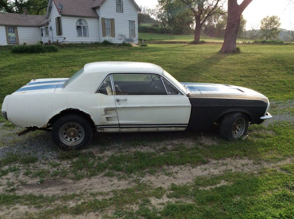 running 1967 Ford Mustang project
