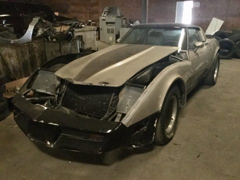 almost completed 1982 Chevrolet Corvette Collectors EDITION project for sale