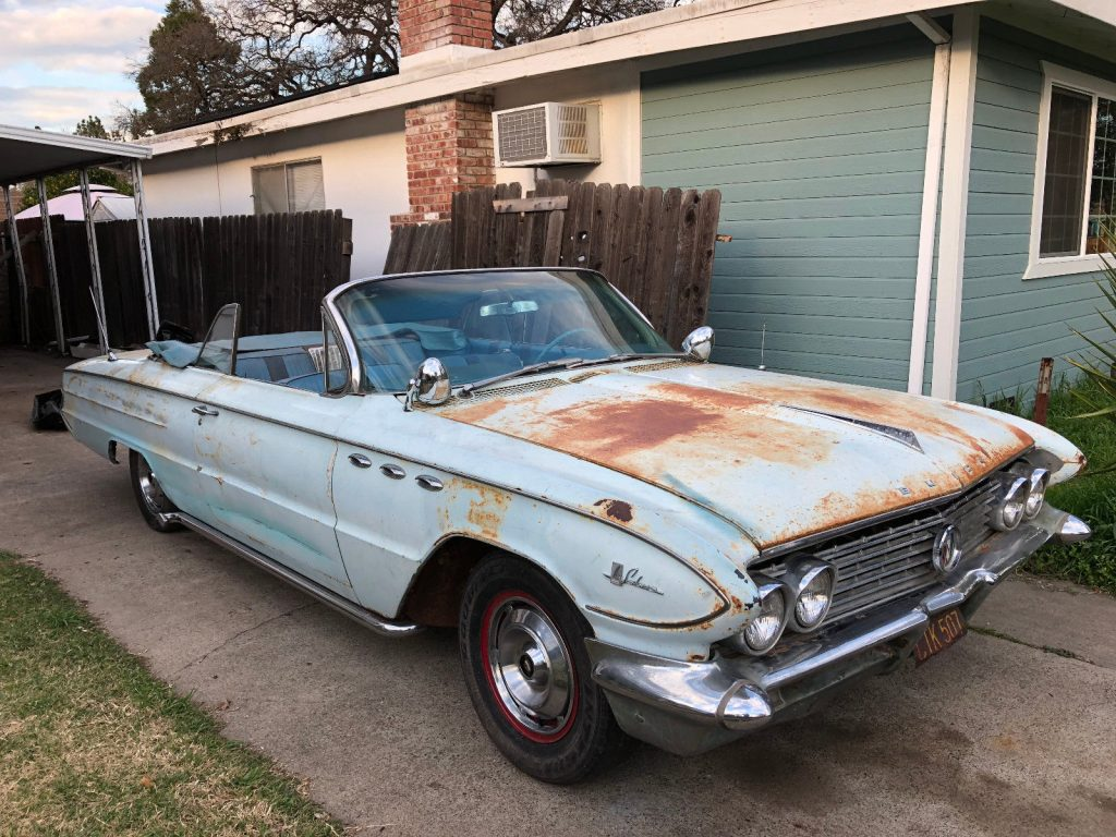 extra parts 1961 Buick LeSabre convertible project