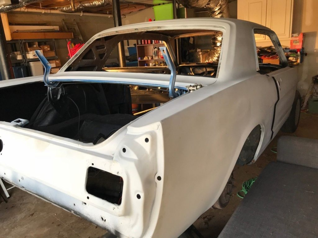 extra parts 1965 Ford Mustang project