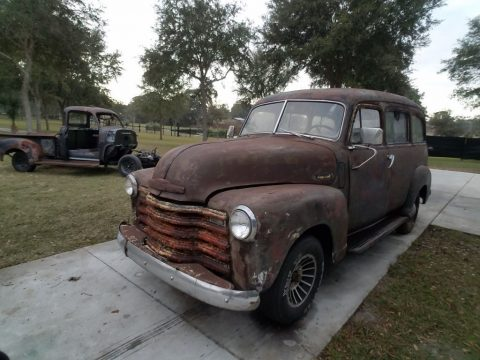 hard to find 1951 Chevrolet Pickups project for sale